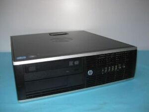 HP Compaq Elite 8200 Small Form Factor PC - i5@3.1GHz  80G SSD 4GB Ram