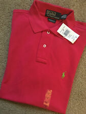 Ralph Lauren Fitted Collared No Pattern Men's Casual Shirts & Tops