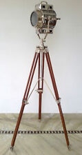 Spot Light Lamp Maritime Nautical Floor Lamp Search Light Designer Tripod Stand