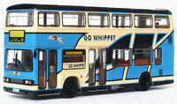 28821 EFE Leyland Titan Dual Door Double Deck Bus Whippet Coaches 1:76 Diecast