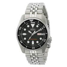 Seiko SKX013K2 Men's Scuba Diver Steel Bracelet Automatic Watch