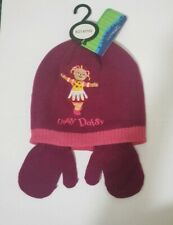 Upsy daisy Winter Hat And Gloves 2 pieces setPink or plum set.