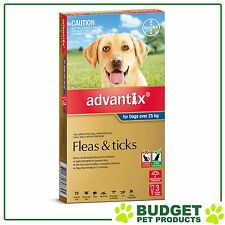 Advantix For Extra Large Dogs Over 25kg 3 pack
