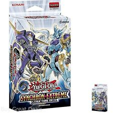 Synchron Extreme Structure Deck Sealed Deck Official Release Synchro Summoning