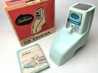 VINTAGE SUNBEAM AUTOMATIC ICE CRUSHER ATTACHMENT ZBL-1C