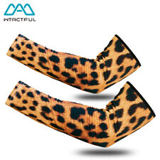 New listing Animal Cooling Arm Sleeves Covers Sun Protection Outdoor Sports Cycling Fishing