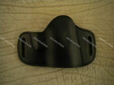 Springfield,XD,XDM,Glock,20,21,Belt Slide Cross Draw Leather Gun Holster Black