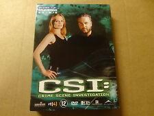 3-DISC DVD BOX / CSI: CRIME SCENE INVESTIGATION - SEIZOEN 5 - DEEL 1