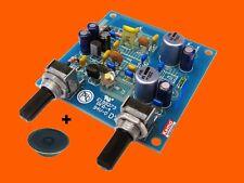 KEMO B156N UKW-EMPFÄNGER 9V/10mA Bausatz+Lautsprecher FM-radio receiver-kit B156