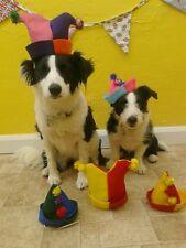 Los Perros sombreros de fiesta de cumpleaños. hechos a mano por la señora Picadas De Fieltro Ideal Vestido de fantasía