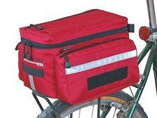 Bushwhacker Mesa Red Rear Rack Bike Bag Bicycle Trunk Cycling Pannier Pack Case