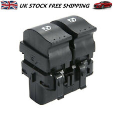 Driver Side Electric Window Double Switch Button For Renault Megane Scenic MK II