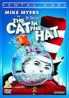 The Cat In The Hat (DVD, 2004) Like New