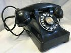Vtg 1949 Bell System Western Electric F1 Rotary Dial Bakelite? Telephone Black