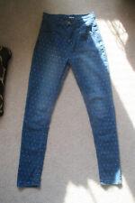 """BDG High Rise Seam Jeans Denim """"POLKA DOTS"""" Pencil Slim 25 x 29  CUTE!!"""