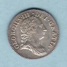 New listing Great Britain. 1762 - George 111 Threepence. aUnc/gEf - Near Full Lustre
