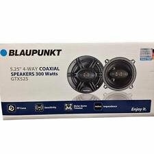 "Blaupunkt GTX525 5.25"" 300 W Max 4-Way 4 Ohms Stereo Car Audio Coaxial Speakers"