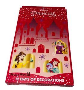 Disney Princess Advent Calendar 12 Days Of Decorations Christmas Gift PRIMARK