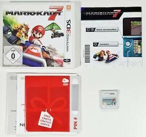 Nintendo 3DS/2DS Spiel MARIO KART 7 dt Rennspiel/Funracer/Mehrspieler/Gleiter