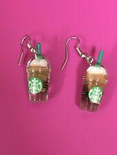Coffee/ Iced Coffee/Frappuccino/Starbu cks Starbucks Earrings/ Caramel Macchiato/
