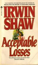Acceptable Losses by Irwin Shaw (1983, Paperback)