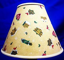 Holiday Birdhouse Lamp Shade Xmas Lampshade