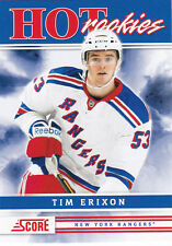 2011-12 SCORE TIM ERIXON RC SP #559 HOT ROOKIES HR 11-12
