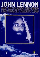 John Lennon & the Plastic Ono Band-Live Peace in Toronto (1969) DVD Eric Clapton