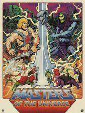 Timothy Anderson Masters Universe Variant Screen Print Limited Signed Numbered