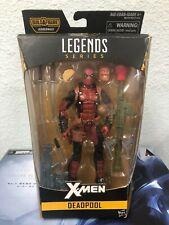 Marvel Legends Series 6 X-Men DEADPOOL Juggernaut Build A Figure DAMAGE BOX