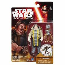 "Hasbro Star Wars W1 Force Awakens 3.75"" # Unkar Plutt Action Figure"
