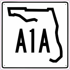 Florida A1A HWY Highway Vinyl Sticker Decal **FREE SHIPPING**