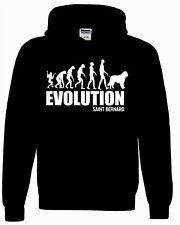 Saint Bernard Dog Hoody Sweatshirt Evolution