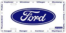 FORD METAL AUTO LICENSE PLATE CAR TAG NUMBER #2600