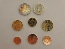Série 8 pièces Euros France 2021 - 1 centimes à 2 Euros Qualité Fleur de Coin