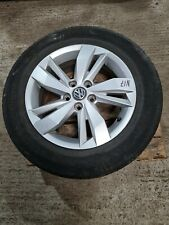 """FOR 2017 VOLKSWAGEN POLO 15"""" ALLOY WHEEL WITH TYRE 3MM 185/65/15 2G0601025N"""