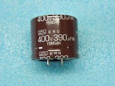 capacitor condensateur 400v 390µF 390MF 105°C nippon chemi-con snap-in 35x30mm