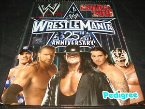 WWE BOOK SET - ANNUAL 2009 + 2010 + ARE WE THERE YET?, Wrestling Raw Smackdown