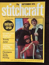 Stitchcraft Magazine: September 1975