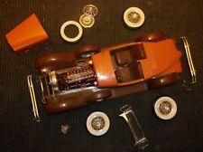 """Vintage Plastic MODEL CAR Partly-Assembled PACKARD(or Model""""B"""")"""