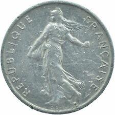 COIN / FRANCE / 1/2 FRANC 1966   #WT17537