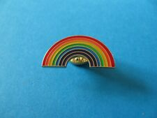 RAINBOW Pin Badge. Enamel. Gay Pride. Football, Sports.