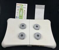 Nintendo Wii Fit Balance Board Bundle w/ Wii Fit Plus Game & Extra Feet WORKING