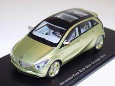 1/43 Spark Street 2010 Mercedes-Benz Blue Zero  Concept S1056