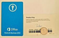 Microsoft Office 2013 Home and Business Product Key Card Full Retail English