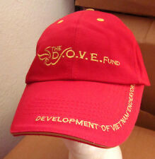 DOVE Fund baseball hat Vietnam Veterans Organization Endeavors cap embroidery OG