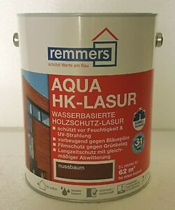 2,5l Remmers AQUA HK Lasur Holzlasur Holzschutz