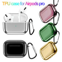 Charging Case Electroplate TPU Case Protective Cover Shell For AirPods Pro