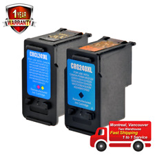 2PK Remanufactured Ink for Canon PG-240XL CL-241XL MX472 MX512 MX520 MX522 MX532
