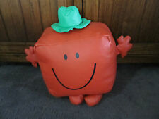 MR MEN...MR STRONG ....gorgeous large vinyl feel  toy.... original item